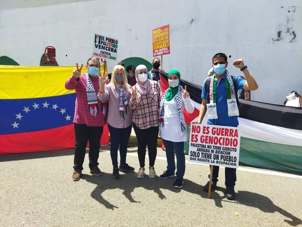 Valencia en apoyo a Palestina