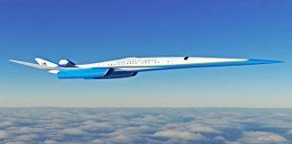 el avión supersónico