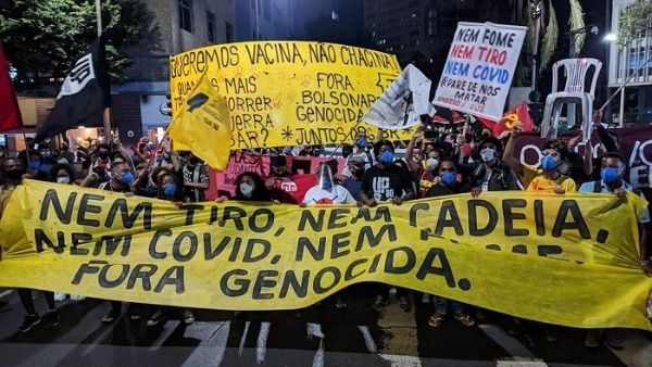 Brasileños protestaron