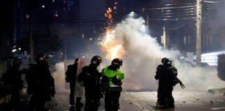 Noche de represión