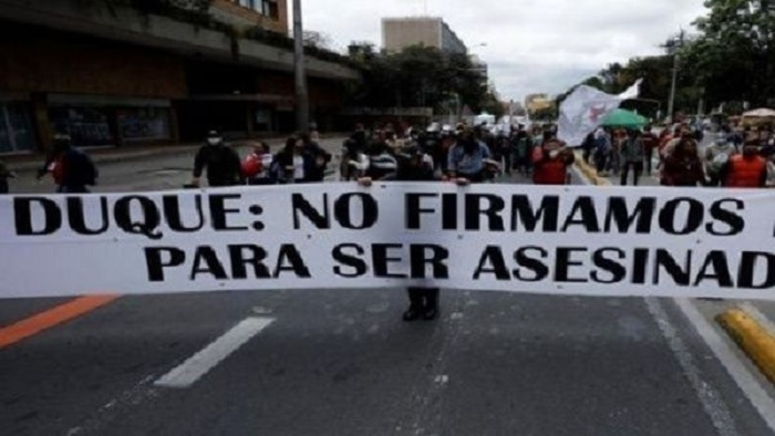 excombatiente de las FARC-EP