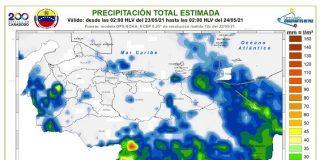 lluvias de intensidad variable