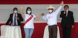 Pedro Castillo y Keiko Fujimori