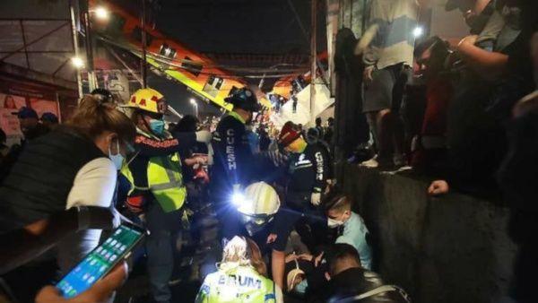 accidente del Metro en México