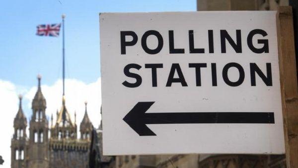 centros electorales en Reino Unido