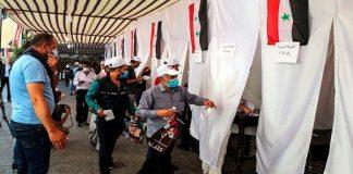 Sirios en exterior votan