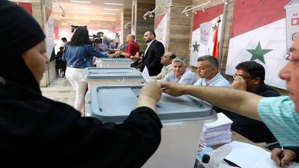 elecciones presidenciales en Siria