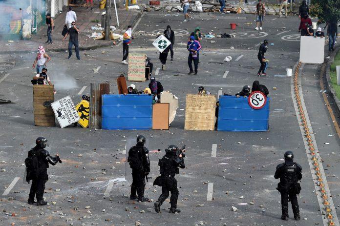 Colombia-represión