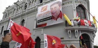 conteo de votos en Perú