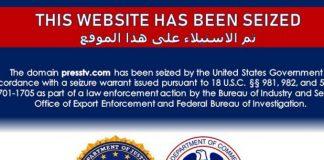 EE.UU. bloquea medios de comunicación iraní y yemení