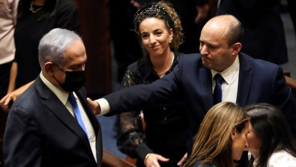 Bennett-Netanyahu-Israel