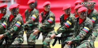 Día del Ejército Bolivariano-Maduro