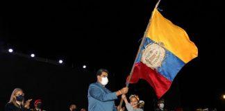 Presidente Maduro: Bolivar victorioso entra a Caracas
