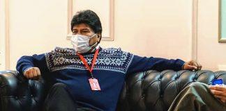 Evo Morales parctipa en Congreso de los Pueblos