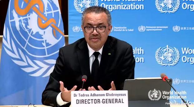 distribución de vacunas-OMS-director general-Tedros