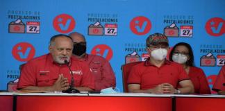 postulaciones de precandidatos del PSUV