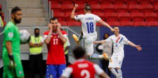 Chile y Paraguay se clasificaron a cuartos de final