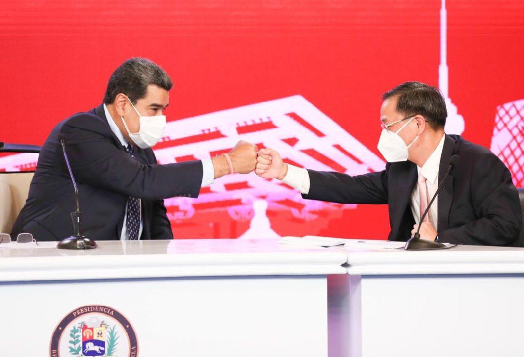 China y Venezuela-Maduro