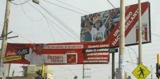 Cierran campañas en Perú