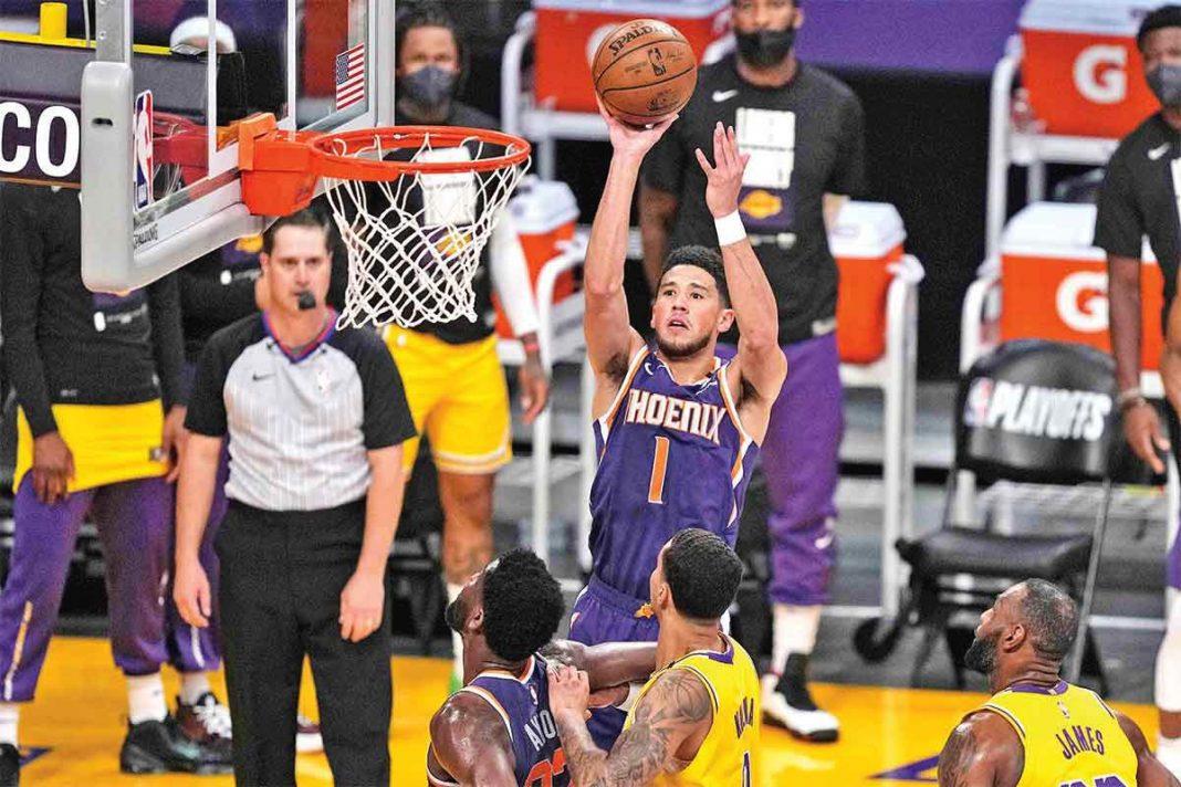 Phoenix-dejó a Lakers en el camino