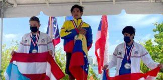 Raúl Briceño-Campeón Centroamericanos y del Caribe
