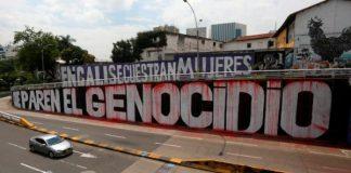 asesinatos-represión estatal en Colombia