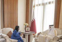 visita oficial a Qatar