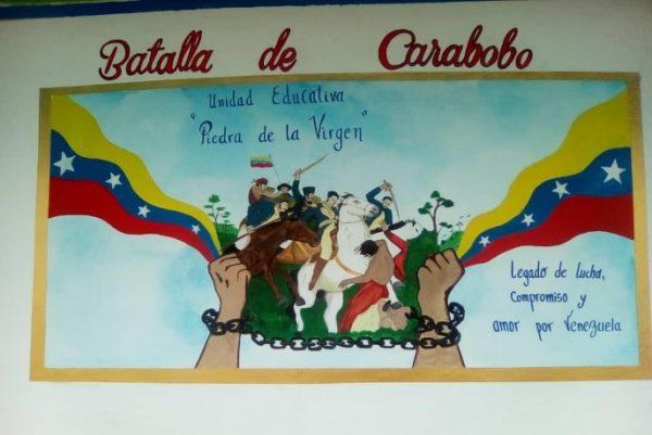 Carabobo eligió los murales Bicentenario