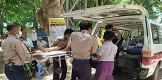 ayuda urgente en Myanmar