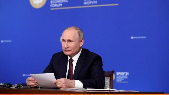 Vladimir Putin llama a comunidad internacional