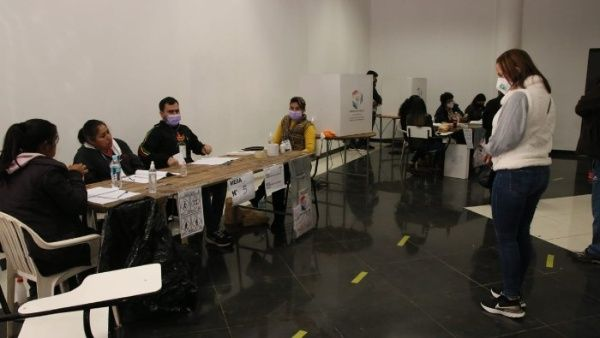 jornada electoral en Paraguay
