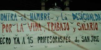 Paro Sindical en Uruguay
