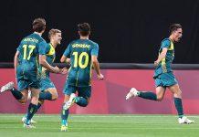 Argentina cayó en su debut olimpico ante Asustralia