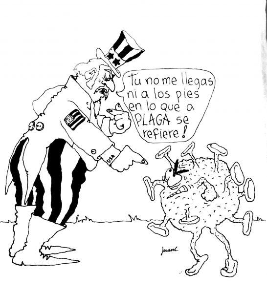 Juan fernández-caricatura