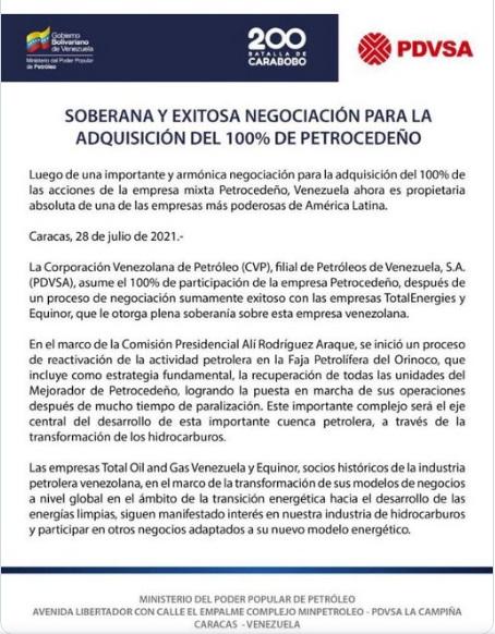 PetroCedeño