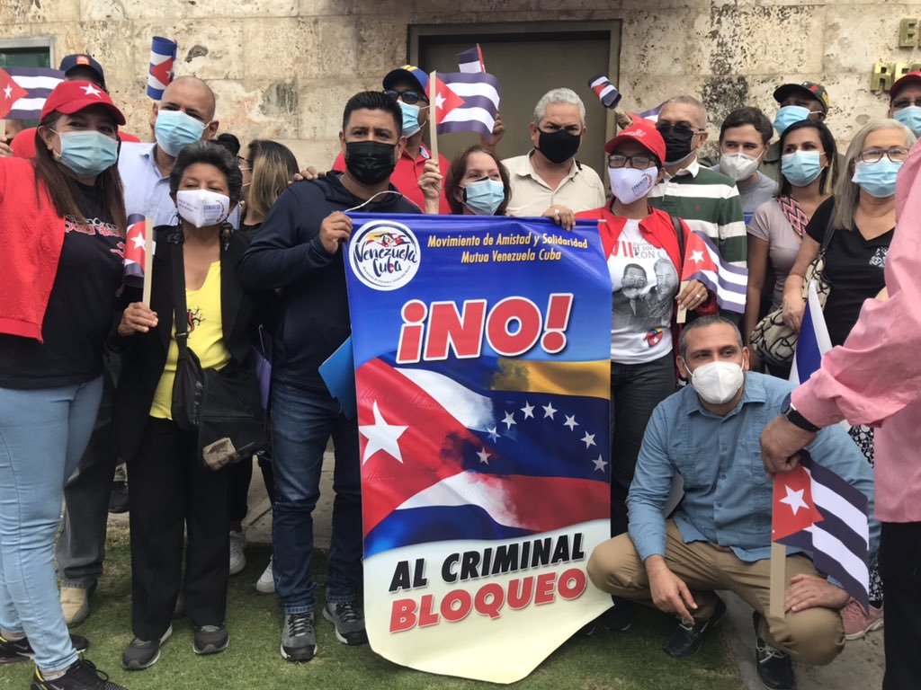 Solidaridad con Cuba-Grupo de Amistad Cuba-Venezuela