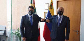 Venezuela y México