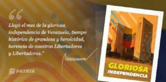 bono Gloriosa Independencia