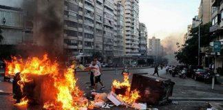 estallido social-Líbano