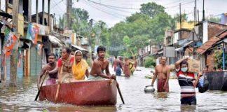 Inundaciones en India