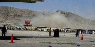 Explosiones en el aeropuerto de Kabul