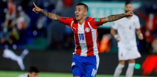 Paraguay 2 - Venezuela 1. Foto: Nathalia Aguilar (EFE)