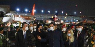 Pdte. Nicolás Maduro recorrió México