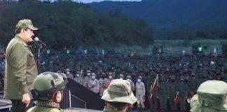 CEOFANB 16 aniversario: Nicolás Maduro comanda despliegue militar