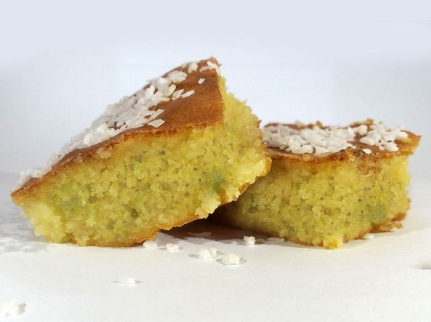 Torta de calabacín