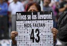 México recuera normalistas de Ayotzinapa