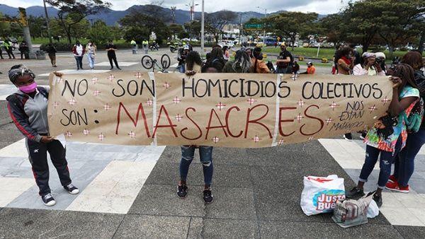 asesinados en Colombia