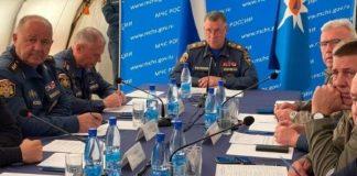 ministro de Emergencias de Rusia