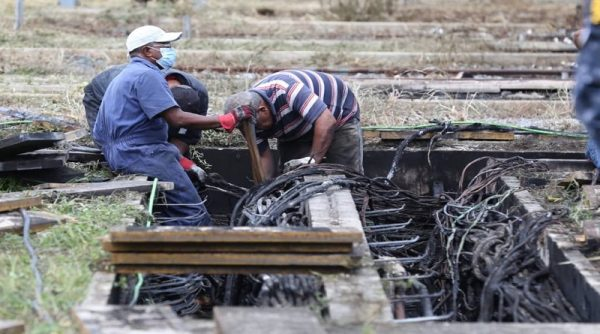 recuperación de subestación Aragua