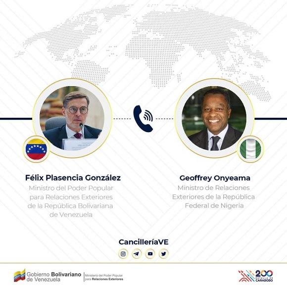 Venezuela y Nigeria